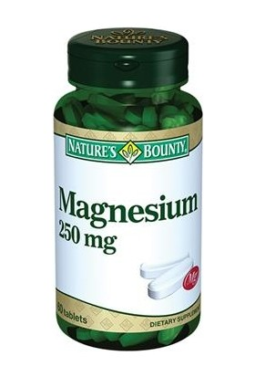 Natures Bounty Magnesium 250 mg 60 Tablet