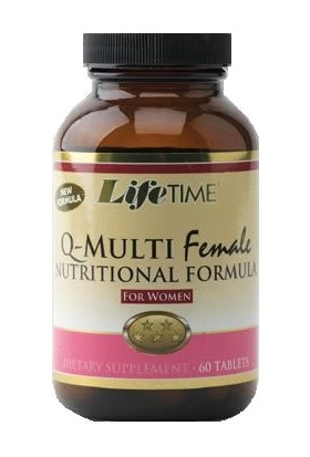 Life Time Multi Female (Multi Fem) 60 Tablets
