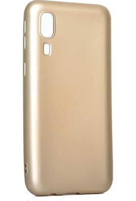 Teleplus Samsung Galaxy A2 Core Lüks Silikon Kılıf Gold