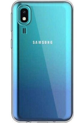 Teleplus Samsung Galaxy A2 Core Süper Silikon Kılıf Şeffaf