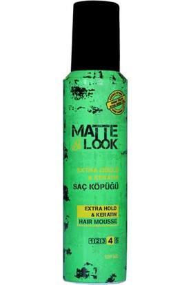 Matte Look Extra Güçlü Saç Köpüğü 150 ML