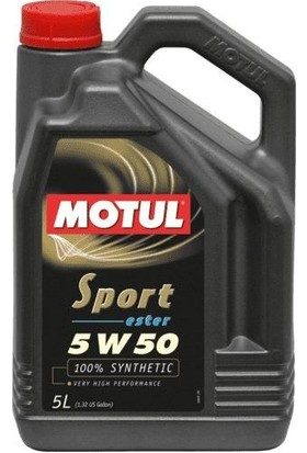 Motul Sport 5W50 Ester 5 Litre
