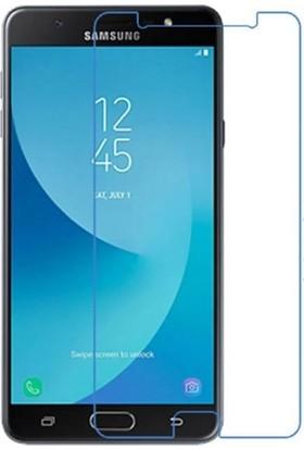 Ehr. Samsung Galaxy J7 Max Nano Ekran Koruyucu Cam + Şeffaf Silikon Kılıf
