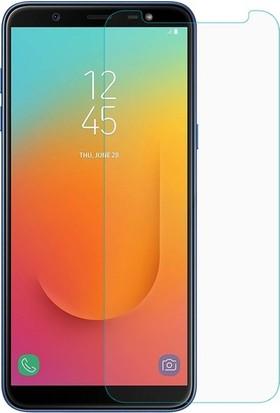 Ehr. Samsung Galaxy J8 Duo Nano Ekran Koruyucu Cam + Şeffaf Silikon Kılıf