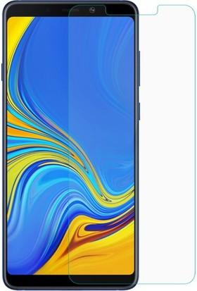 Ehr. Samsung Galaxy A9 2018 Nano Ekran Koruyucu Cam + Şeffaf Silikon Kılıf