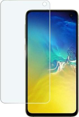 Ehr. Samsung Galaxy S10E Nano Ekran Koruyucu Cam + Şeffaf Silikon Kılıf