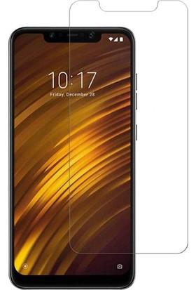 Ehr. Xiaomi Pocophone F1 Nano Ekran Koruyucu Cam + Şeffaf Silikon Kılıf