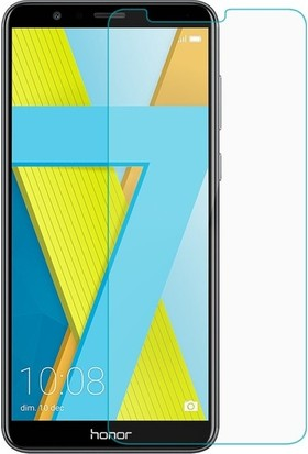 Ehr. Huawei Honor 7X Nano Ekran Koruyucu Cam + Şeffaf Silikon Kılıf