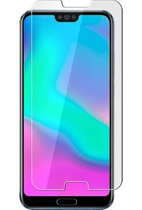 Ehr. Huawei Honor 10 Nano Ekran Koruyucu Cam + Şeffaf Silikon Kılıf