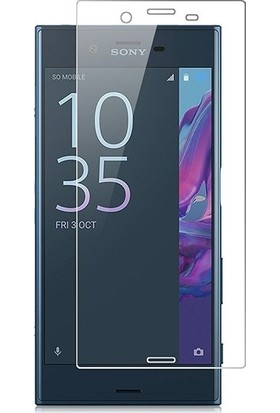 Ehr. Sony Xperia XA Nano Ekran Koruyucu Cam + Şeffaf Silikon Kılıf