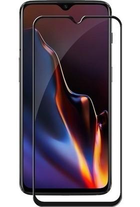 Ehr. Samsung Galaxy M20 5D Full Nano Ekran Koruyucu Cam + Siyah Silikon Kılıf