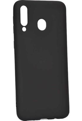 Ehr. Samsung Galaxy M10 5D Full Nano Ekran Koruyucu Cam + Siyah Silikon Kılıf