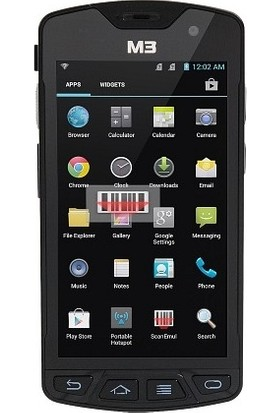 M3 Mobile Sm10 Lte Android,4G,Wifi, Bt,2D Scanner