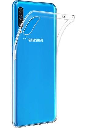 Microcase Samsung Galaxy A70 Ultra İnce 0.2 mm Soft Silikon Kılıf