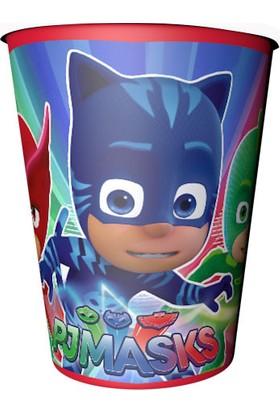 Balon Evi Pijamaskeliler Temalı Doğum Günü Karton Bardak 8 Adet 220 240 cc