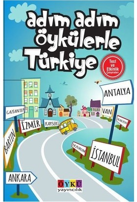 Öykü Yayınları 5. - 6. - 7. ve 8. Sınıf Adım Adım Öykülerle Türkiye (10 Kitap)
