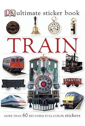 Train Ultimate Sticker Book - Dorling Kindersley