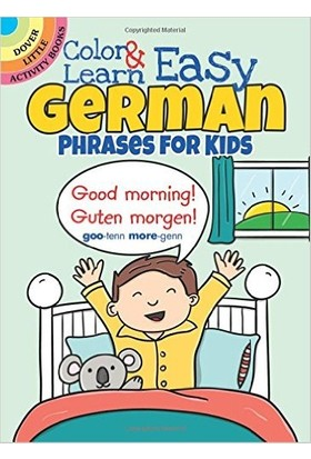 Color And Learn Easy German Phrases For Kids - Roz Fulcher