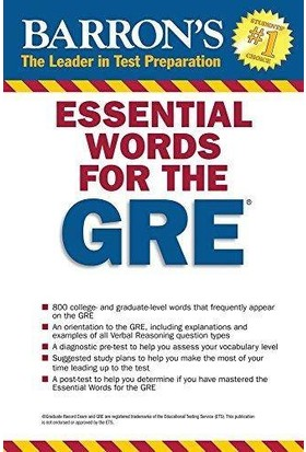 Barron's Essential Words For The Gre (4th Ed) - Philip Geer