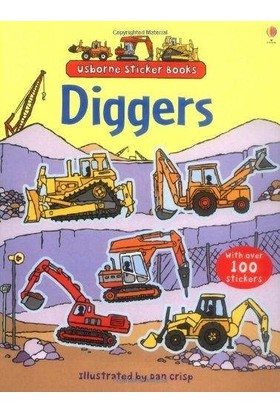 Diggers Sticker Book - Alice Pearcey