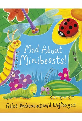 Mad About Minibeasts - Giles Andreae