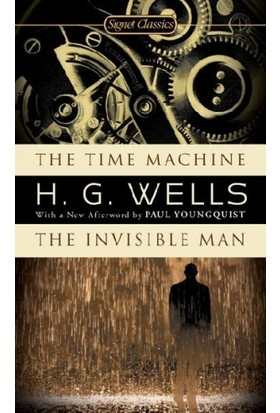 Time Machine - The Invisible Man - H. G. Wells