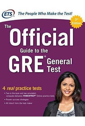 The Official Guide To The Gre General Test 3rd Ed - ETS