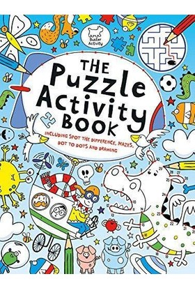 The Puzzle Activity Book - Various