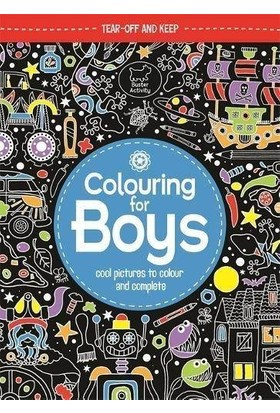 Coloring For Boys - Jessie Eckel