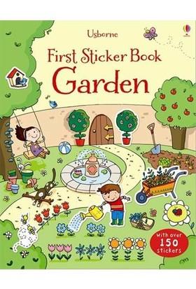 First Sticker Book Garden - Caroline Young