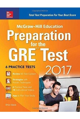 Mcgraw-Hill Education Preparation For The Gre Test 2017 - Erfun Geula