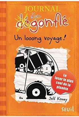 Journal D'un Degonfle 9: Un Looong Voyage - Jeff Kinney