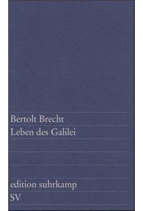 Leben Des Galilei: Schauspiel - Bertolt Brecht