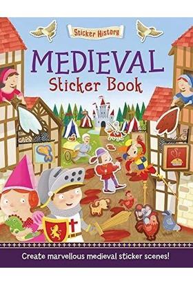 Sticker History: Medieval Sticker Book - Joshua George