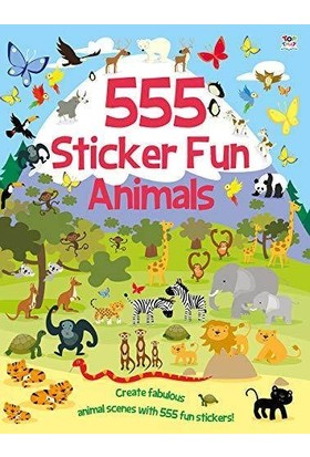 555 Sticker Fun: Animals - Susan Mayes