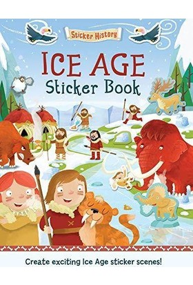 Sticker History: Ice Age Sticker Book - Joshua George