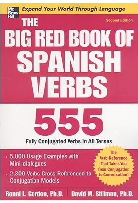 The Big Red Book Of Spanish Verbs 555 - David Stillman