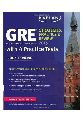 Kaplan Gre 2015 Strategies Practice And Review With 4 Practice Tests - Kaplan