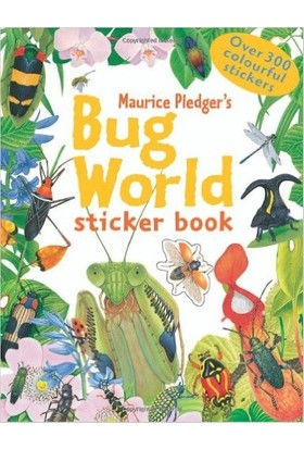 Bug World Sticker Book - Maurice Pledger