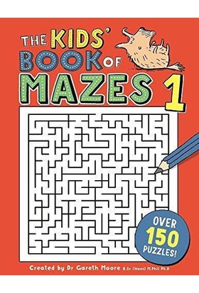 The Kids' Book Of Mazes - Gareth Moore