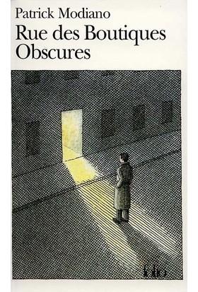 Rue Des Boutiq Obscures - Patrick Modiano