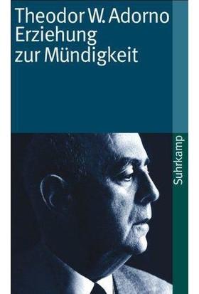 Erziehung Zur Mündigkeit - Theodor Adorno
