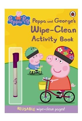 Peppa And George's Wipe Clean Activity Book - Ladybird