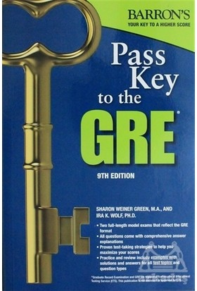 Pass Key To The Gre Test - Sharon Weiner Green