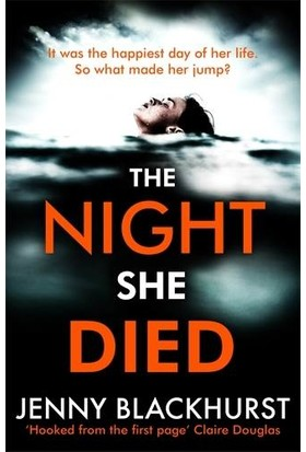 The Night She Died - Jenny Blackhurst