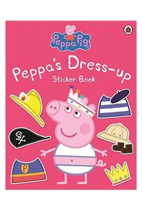 Peppa Dress Up Sticker Book