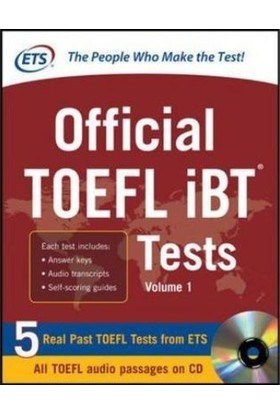 Official Toefl Ibt Tests With Audio (1st Ed) - ETS