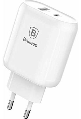 Baseus Bojure Type-C PD + USB Hızlı Şarj Aleti