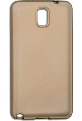 Casestore Samsung Galaxy Note 4 Priming Mat Silikon Arka Kapak Kılıf Gold