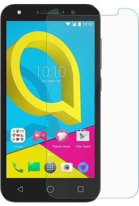 Casestore Alcatel U5 Nano Ekran Koruyucu Cam Şeffaf